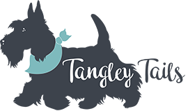 Tangley Tails Dog Grooming Logo